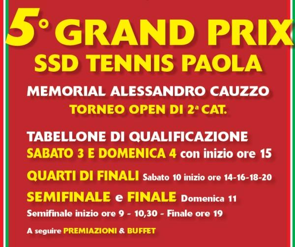 5° Grand Prix Memorial Alessandro Cauzzo
