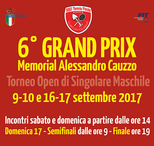 6° Grand Prix Memorial Alessandro Cauzzo