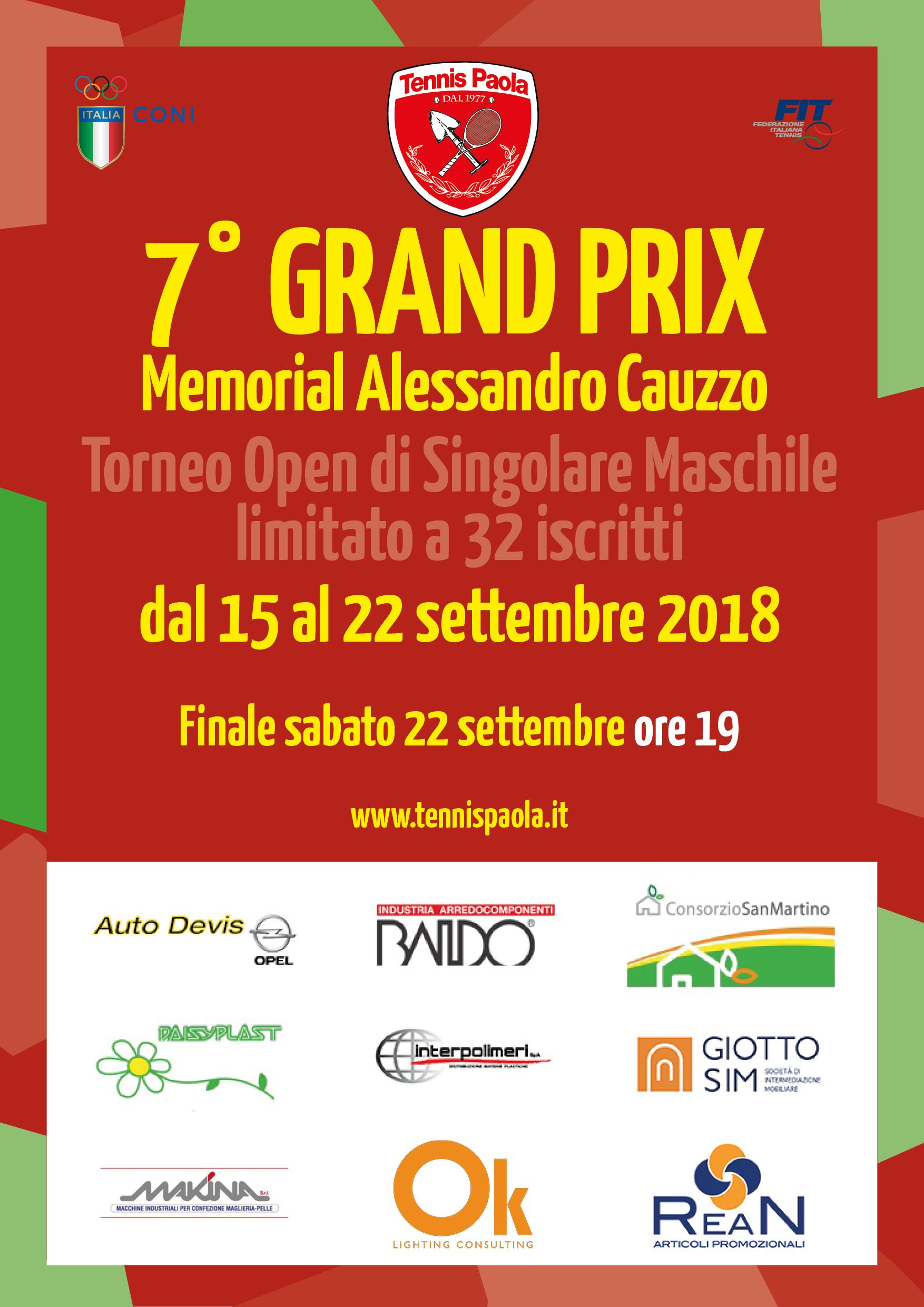 7° Grand Prix Memorial Alessandro Cauzzo