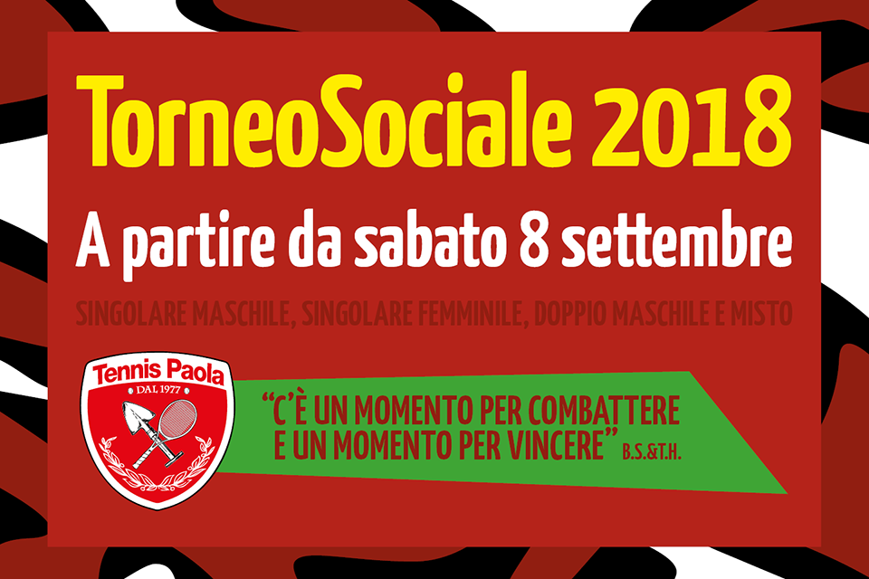 Torneo Sociale 2018