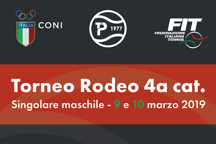 Torneo Rodeo di singolare maschile per giocatori di 4^ categoria