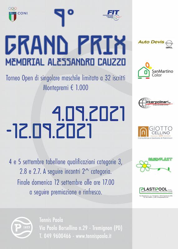 9° Grand Prix Memorial Alessandro Cauzzo